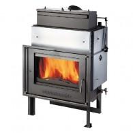 Plieninis židinio ugniakuras HAAS+SOHN VESUVIO 15