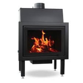 Plieninis židinio ugniakuras ROHEM EGRA 18 kW