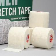 Elastinis teipas CRAMER Eco-Flex, baltas, 7,5 cm x 5,5 m