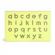 Išmoko Rašyti Mažų Raidžių Šabloną Viga Toys