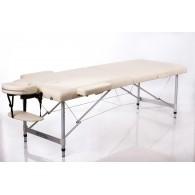 Masažo stalas RESTPRO Alu 2 Cream L dydis - sudedamas