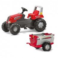 Minamas Traktorius su Priekaba Rolly Toys Junior 3-8 m. iki 50kg