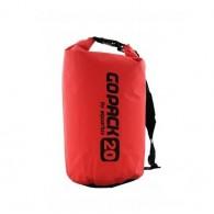 Neperšlampamas krepšys Gopack 20L  raudonas