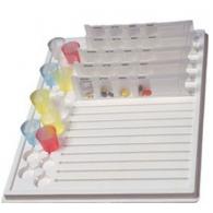 Padėklas tablečių dėžutėms ir taurelėms