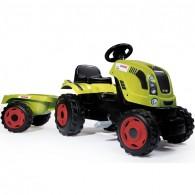 Smoby Minamas Traktorius Claas su Priekaba