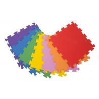Surenkamos Grindų Dangos detalė Palziv Rainbow, Violetinė