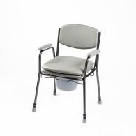 Tualeto kėdė paminkštinta sėdyne 04-7400