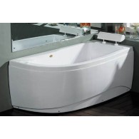 Akrilinė vonia B1680 dešininė 170x90cm Empty