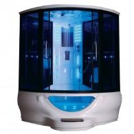 Garo pirtis MODERNA ST-SR022A 150x150 su Masažine Vonia ir LED TV