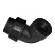 Alkūnė PE 25x1/2 vid. sr. juoda