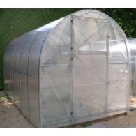 Šiltnamis EKO 2x8 arkinis polikarbonatinis surenkamas