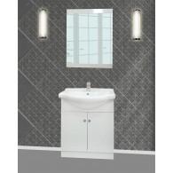 Vonios kambario baldai su praustuvu M004
